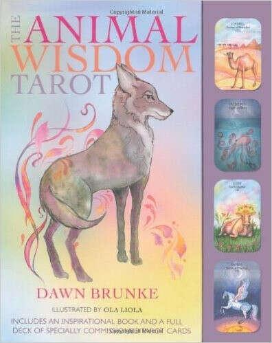 The Animal Wisdom Tarot (box with cards)