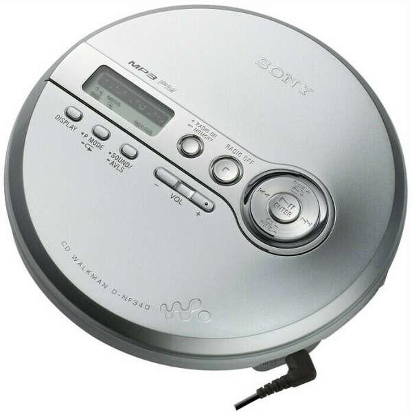 Портативный CD-плеер Sony Walkman/Discman