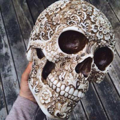 Декоративный череп