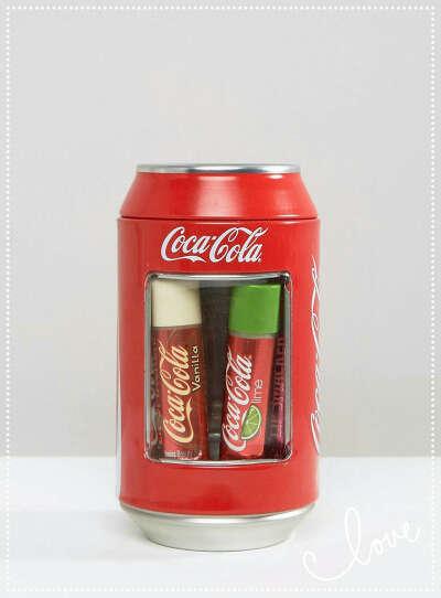 Наборчик LIPSMAKER Coca Cola (4 шт.)