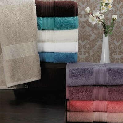 Огромное махровое полотенце