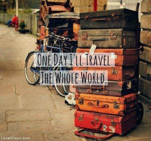 Начать активно путешествовать