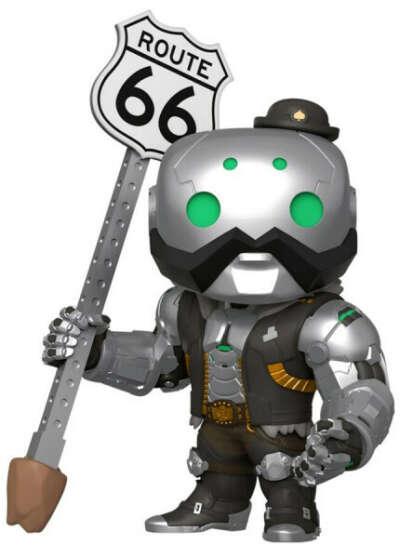 Фигурка Funko POP Games: Overwatch – B.O.B (15 см)