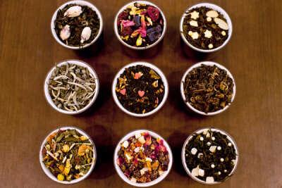 Огромная коллекция заварного чая