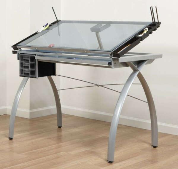 Стол для художника с подсветкой и наклоном