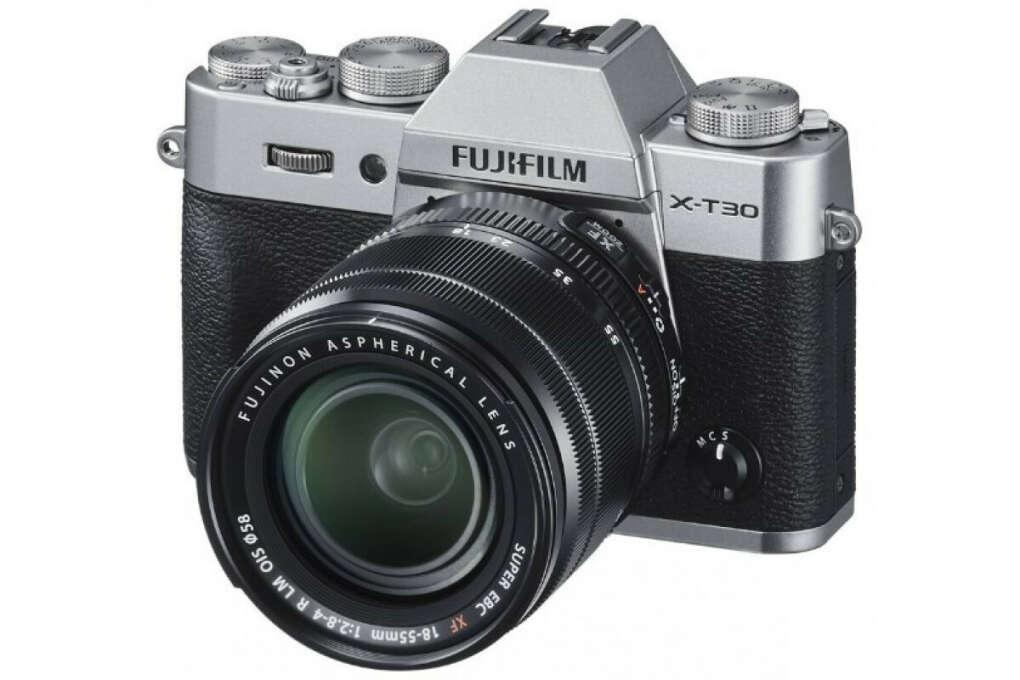 Фотоаппарат Fujifilm X-T30 Kit XF 18-55mm f/2.8-4.0 серебро
