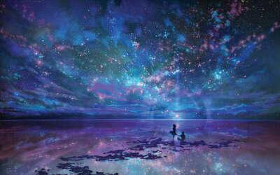 Провести ночь на пляже под звёздным небом