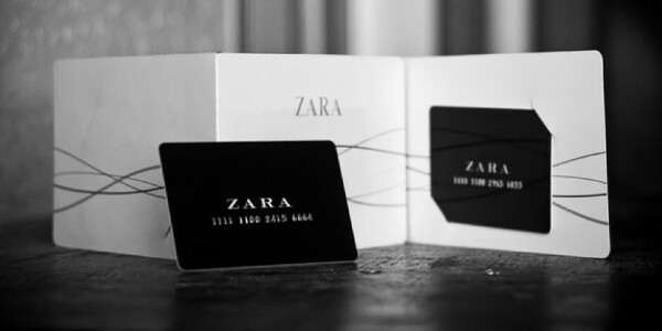 Подарочный сертификат Zara
