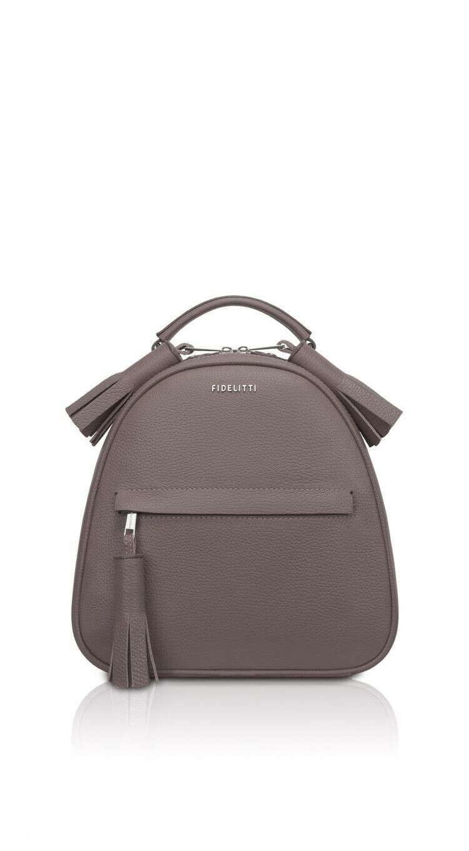 Женский бежево-серый рюкзак ZAINO