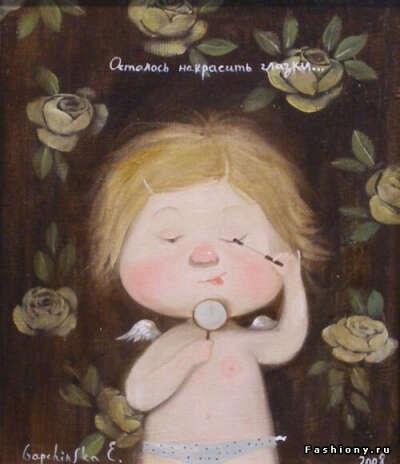 Хочу милых ангелочков Евгении Гапчинской