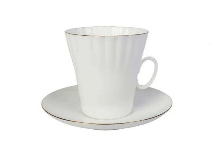 Фарфоровый кофейный набор