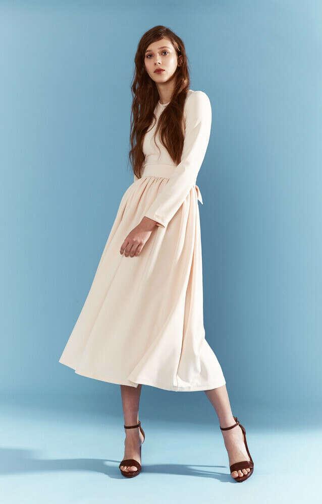 Платье Бежевое  Trends Brands Base