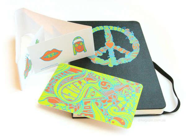 """Moleskine """"Woodstock"""" (Peace)"""