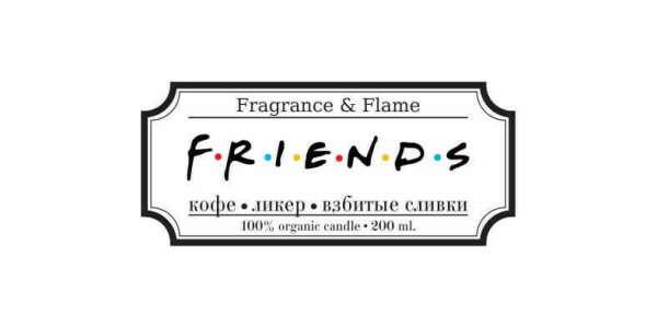 Свеча Friends