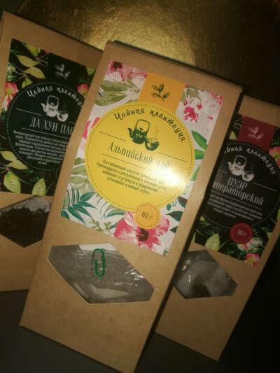 Хорошие чаи, например, марка Чайная плантация