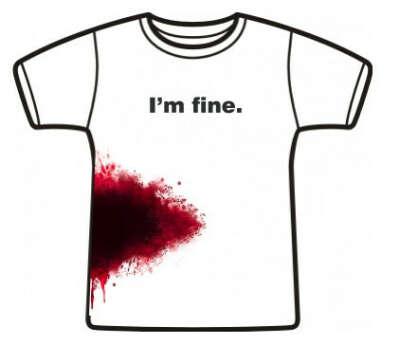 Футболка I'm fine