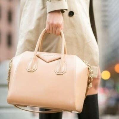 Новую кожанную сумку