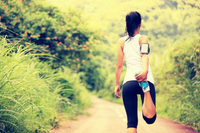 Начать бегать