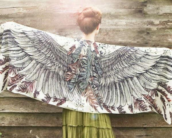 Палантин Sepia Angel
