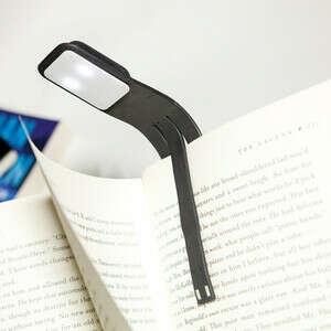 """Лампа-закладка для книг """"Booklight"""", Moleskine, black"""