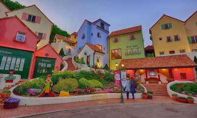Прогулка по Маленькой Франции (Petite France) в Корее