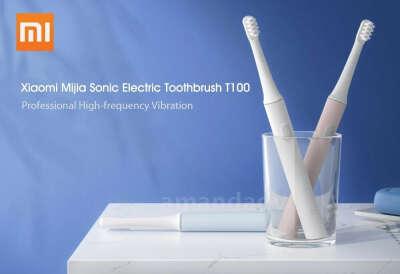 Электрическая зубная щетка Xiaomi MiJia T100 (Белый)