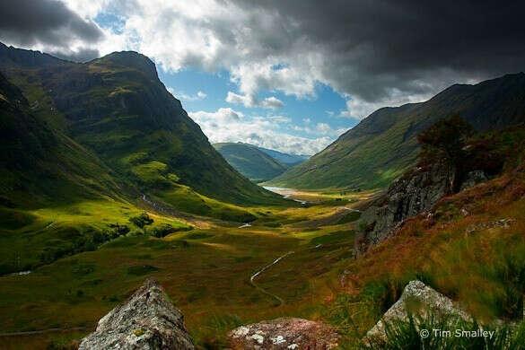 В Шотландию