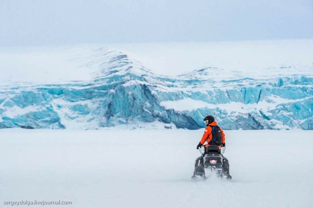 7 дневный тур в арктику на снегоходах