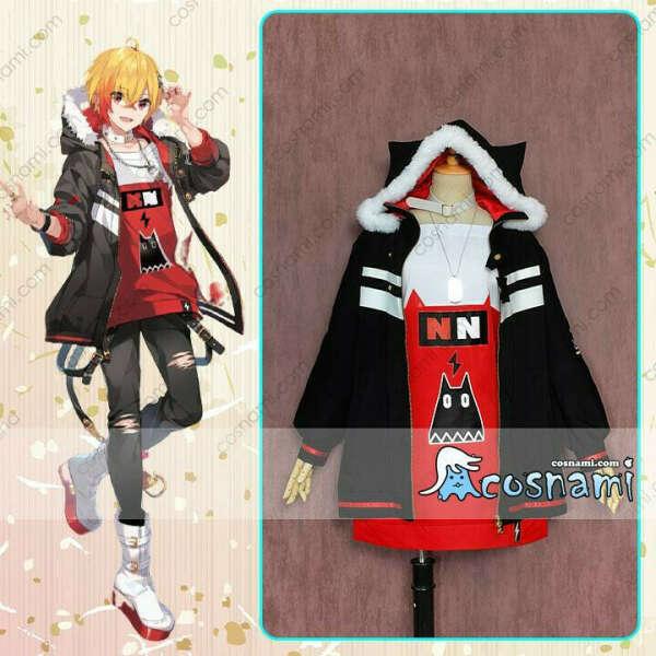 VTuber 96猫 黯希ナツメ スプレ衣装 歌い手 スチューム バーチャルYouTuber cosplay 送料無料