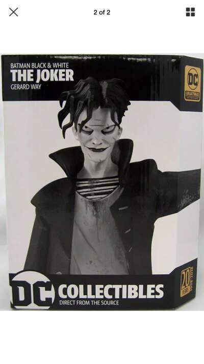 The Joker by Gerard Way statue