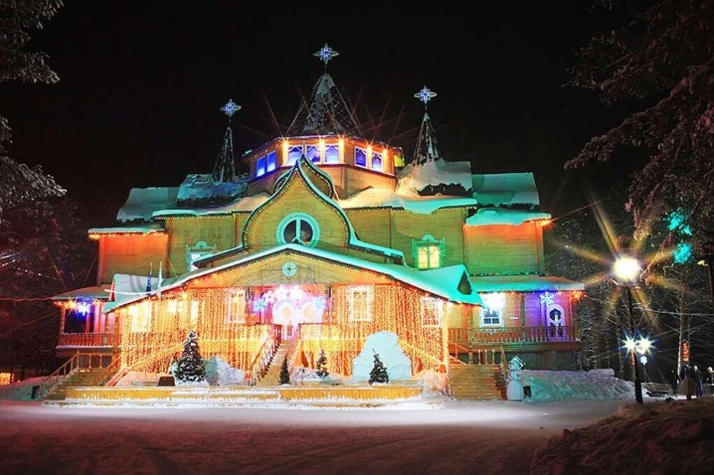 съездить с детьми в Великий Устюг зимой