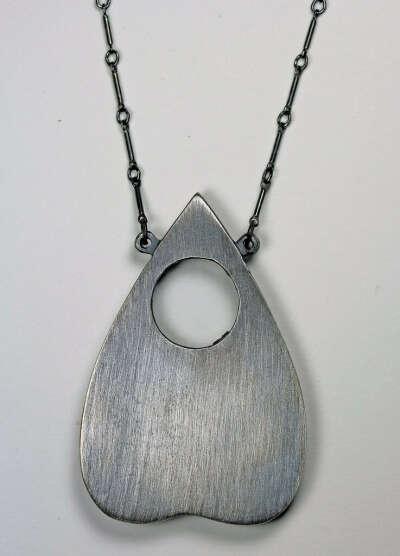"""Original """"large"""" planchette Oracle necklace. – Blood Milk Jewels"""