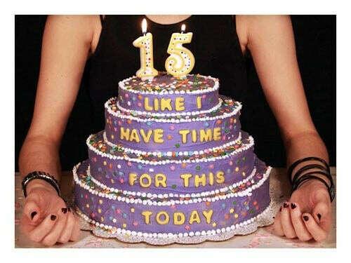 Поскорее день рождения