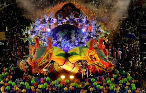На карнавале в Рио