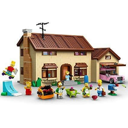 """Конструктор LEGO The Simpsons """"Дом Симпсонов"""""""