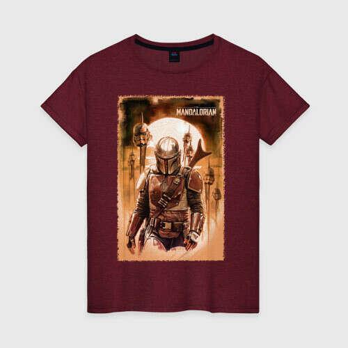 The Mandalorian Женская футболка хлопок с принтом за 1280 ₽ ???? купить в интернет-магазине - 2177877