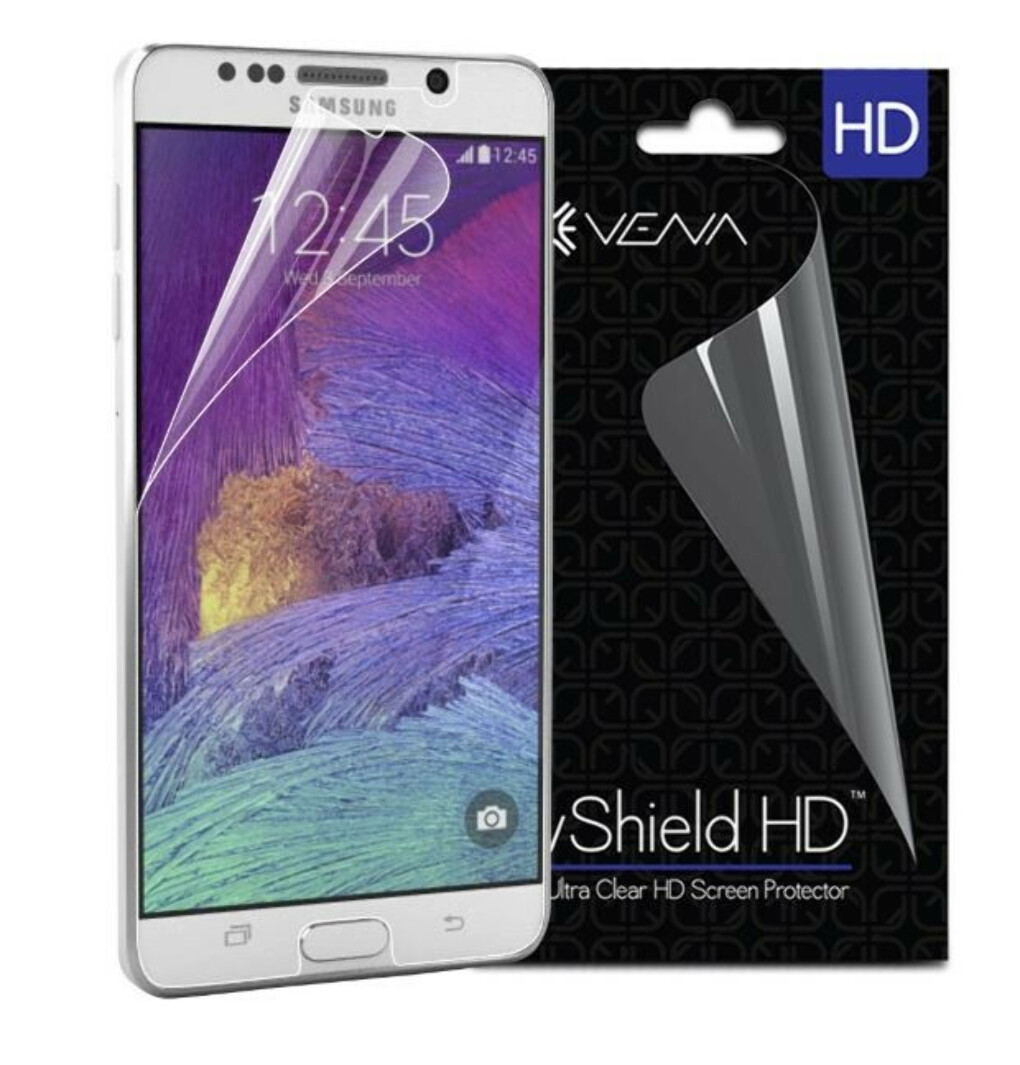 vShield HD Ultra Clear High Definition Screen Protector for Samsung Galaxy Note 5 - 3-Pack