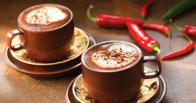Хочу попробовать кофе с чили-перцем))))