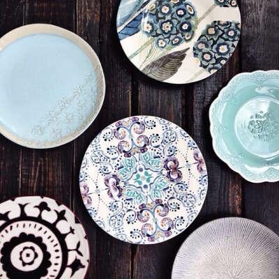 Много красивой посуды от linadelika