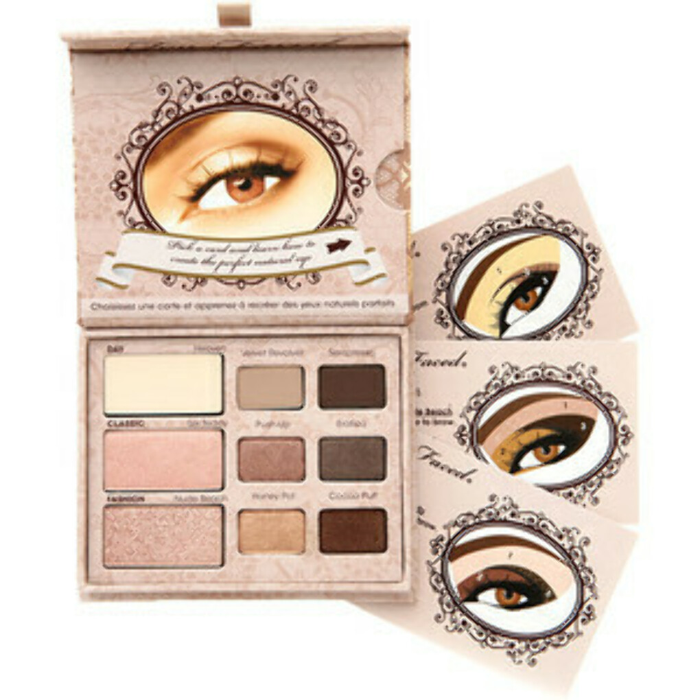 Too Faced Natural Eye Shadow Collection