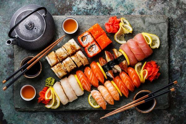 Мастер-классы по приготовлению суши