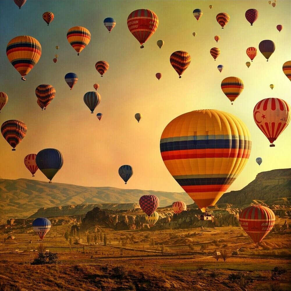 Оказаться на воздушном шаре