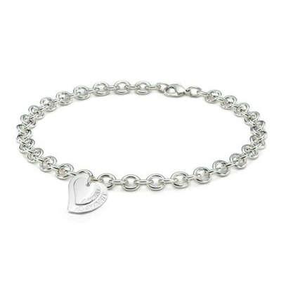Колье Tiffany & Co Heart Tag Toggle Necklace [0410]