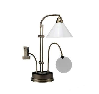 Лампа с лупой и держателем для пялец