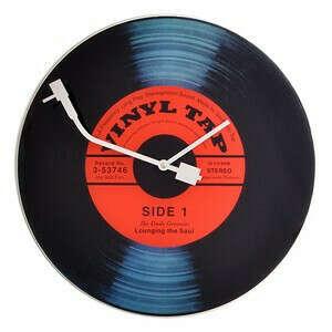 Настенные часы Vinyl tap