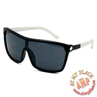 Солнцезащитные очки Sport черные с белым