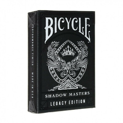 Карты Bicycle Shadow Masters Legacy Edition