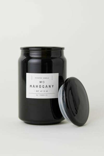 Ароматическая свеча Mahogany от H M Home (большая)