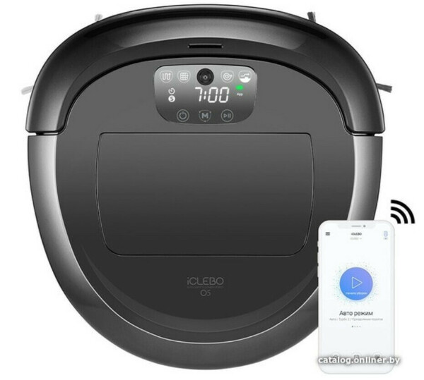 Робот-пылесос iClebo O5 WiFi