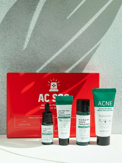 SOME BY MI AHA BHA PHA 30 Days Miracle AC SOS Kit, Some by mi